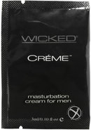 Wicked Creme Masturbation Cream For Men Foil Packs 144 Per...