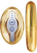 Nen Wa Remote Control Ultra Bullet Waterproof Gold