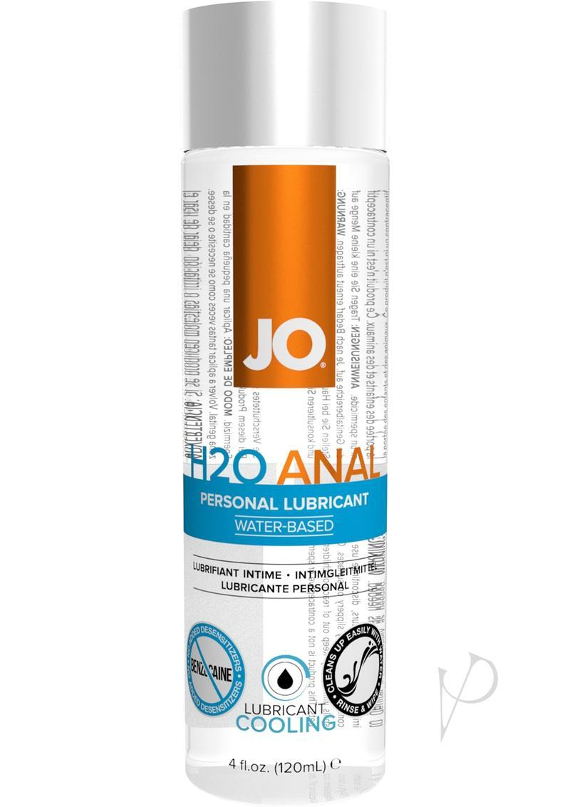 Jo Anal H2o Cool Water Based Lubricant 4 Ounce