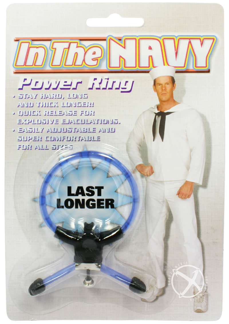 In The Navy Power Ring Blue